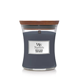 Vonná svíčka váza střední Indigo Suede 275 g