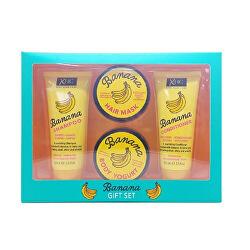 Dárková sada vyživující vlasové a tělové péče Banana Box Set