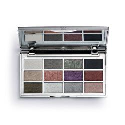 Paletka očních stínů CrystalXX Platinum 10 g