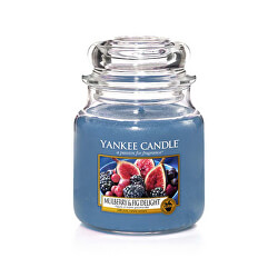 Aromatická svíčka Classic malý Mulberry & Fig Delight 104 g