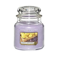 Lumânare aromaticăClassic Medium Lemon Lavender 411 g