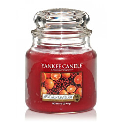 Aromatická svíčka Classic střední Mandarin Cranberry 411 g