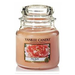 Aromatická svíčka Classic střední Peony 411 g