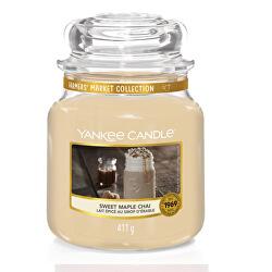 Aromatická svíčka Classic střední Sweet Maple Chai 411 g