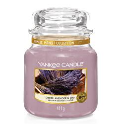 Aromatická svíčka Classic střední Dried Lavender & Oak 411 g