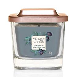 Aromatická svíčka malá hranatá Dark Berries 96 g