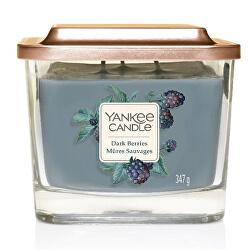 Aromatická svíčka střední hranatá Dark Berries 347 g