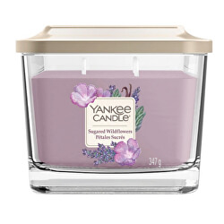 Aromatická svíčka střední hranatá Sugared Wildflowers 347 g