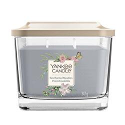 Aromatická svíčka střední hranatá Sun-Warmed Meadows 347 g