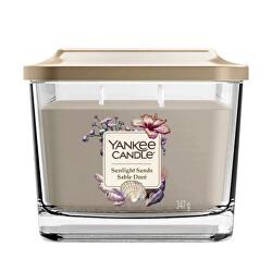 Aromatická sviečka stredná hranatá Sunlight Sands 347 g