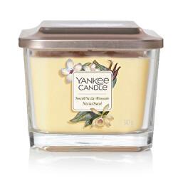 Aromatická svíčka střední hranatá Sweet Nectar Blossom 347 g