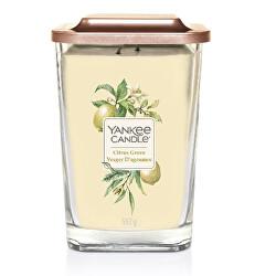 Aromatická svíčka velká hranatá Citrus Grove 552 g