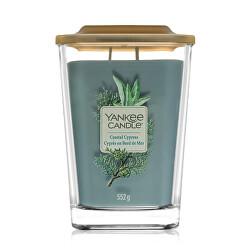 Aromatická svíčka velká hranatá Coastal Cypress 552 g