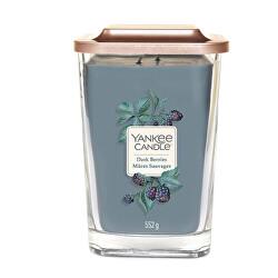 Aromatická svíčka velká hranatá Dark Berries 552 g