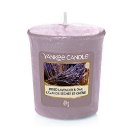 Candela profumata votiva Dried Lavender & Oak 49 g