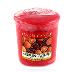 Aromatická votivní svíčka Mandarin Cranberry 49 g