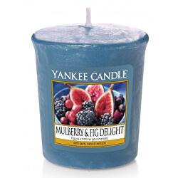 Aromatická votivní svíčka Mulberry & Fig Delight 49 g