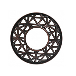 Ozdobný prstenec Belmont bronzový na vonnou svíčku velkou a střední 1 ks