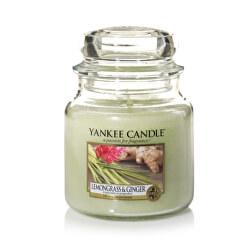 Vonná svíčka Classic střední Lemongrass & Ginger 411 g