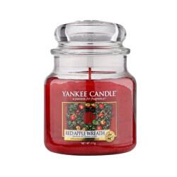 Vonná svíčka Classic střední Red Apple Wreath 411 g