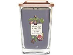 Aromatická svíčka velká hranatá Fig & Clove 552 g