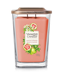 Aromatická svíčka velká hranatá Jasmine & Pomelo 552 g
