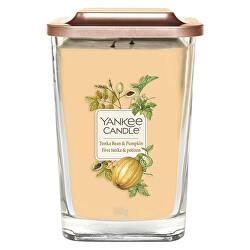 Aromatická svíčka velká hranatá Tonka Bean & Pumpkin 552 g