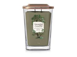 Aromatická svíčka velká hranatá Vetiver & Black Cypress 552 g