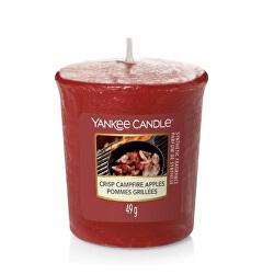 Aromatická votivní svíčka Crisp Campfire Apples 49 g