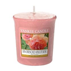Aromatická votivní svíčka Sun-Drenched Apricot Rose 49 g
