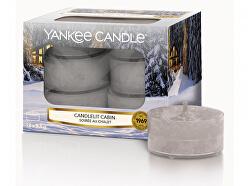 Aromatické čajové svíčky Candlelit Cabin 12 x 9,8 g