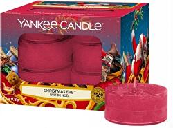 Aromatické čajové svíčky Christmas Eve 12 x 9,8 g