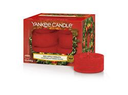 Aromatické čajové svíčky Red Apple Wreath 12 x 9,8 g