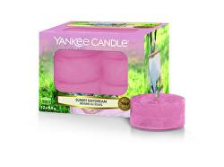 Aromatické čajové svíčky Sunny Daydream 12 x 9,8 g
