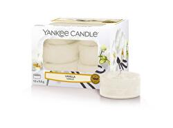 Aromatické čajové svíčky Vanilla 12 x 9,8 g