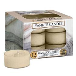 Aromatické čajové svíčky Warm Cashmere 12 x 9,8 g