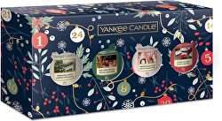 Dárková sada votivních svíček Countdown to Christmas 4 x 49 g