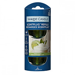 Náhradní náplň do elektrického difuzéru Organic Kit Vanilla Lime 2 x 18,5 ml
