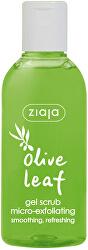 Gelový peeling Olive Leaf (Gel Scrub Micro-Exfoliating) 200 ml