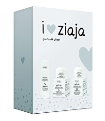 I Love Ziaja ajándék csomagKecske tej ( Goat`s Milk Gift Set)