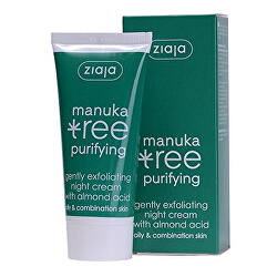 Nočný krém jemne exfoliačný Manuka Tree Purifying 50 ml
