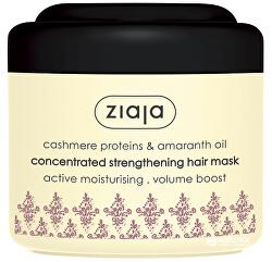 Posilující maska na vlasy s amarantovým olejem Cashmere (Concentrated Strengthening Hair Mask) 200ml