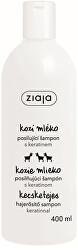 Sampon száraz és matt hajra keratinnal Goat`s Milk 400 ml
