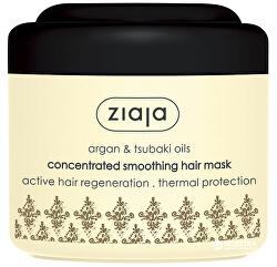 Uhlazující maska pro suché a poškozené vlasy Argan (Concentrated Smoothing Hair Mask) 200 ml