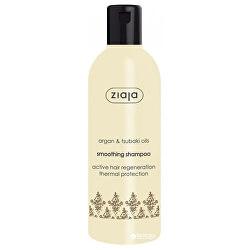 Uhlazující šampon pro suché a poškozené vlasy Argan Oil (Smoothing Shampoo) 300 ml