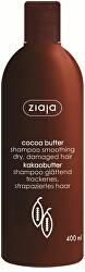 Vyhlazující šampon na suché a poškozené vlasy Cocoa Butter 400 ml