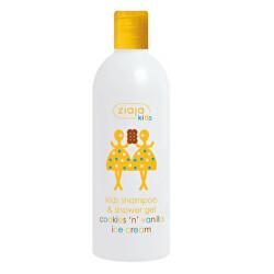 Šampon a sprchový gel Sušenky a vanilková zmrzlina (Kid´s Shampoo & Shower Gel) 400 ml