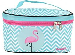 Kozmetikai táska flamingosokkal