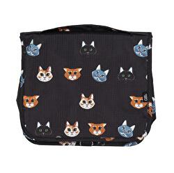 Felfüggeszthető kozmetikai táska Macska