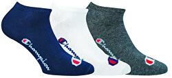 3 PACK - nízke ponožky